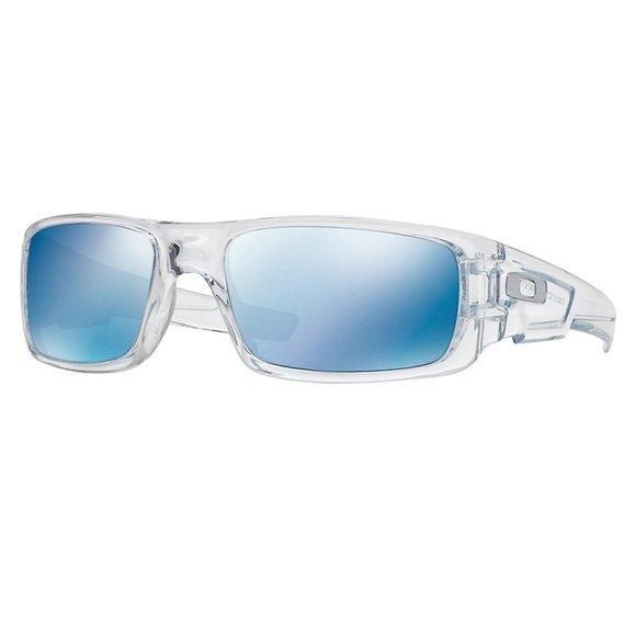 Oakley Rectangular Style Ice Iridium Lens.